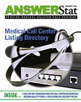 The Aug/Sep 2006 issue of AnswerStat magazine