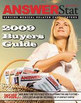 The Dec 2008/Jan 2009 issue of AnswerStat magazine